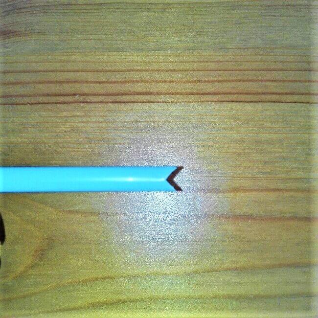 【弓矢を手作り】トイレットペーパー芯とストローで簡単に工作7
