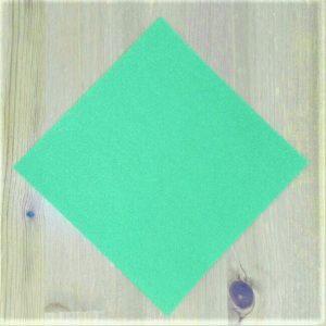 折り紙クリスマスツリー立体は難しい?【実は簡単!】折り方を紹介!0 1