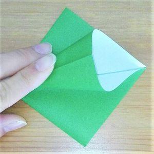 折り紙クリスマスツリー立体は難しい?【実は簡単!】折り方を紹介!0 7