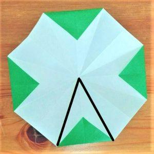 折り紙クリスマスツリー立体は難しい?【実は簡単!】折り方を紹介!11