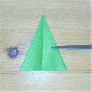 折り紙クリスマスツリー立体は難しい?【実は簡単!】折り方を紹介!14