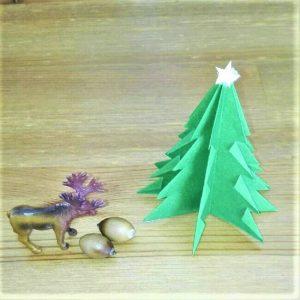 折り紙クリスマスツリー立体は難しい?【実は簡単!】折り方を紹介!17