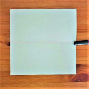 1折り紙【新幹線はやぶさ】の折り方を紹介|子供と作ろう♪作り方は簡単!