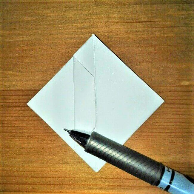10折り紙【お寿司まぐろ】立体の簡単な折り方|子供と楽しもう!