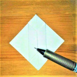 11折り紙【お寿司まぐろ】立体の簡単な折り方|子供と楽しもう!