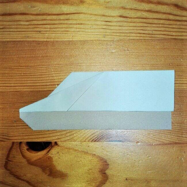 11折り紙【新幹線のぞみ700系】の簡単な折り方|子供と作ろう!