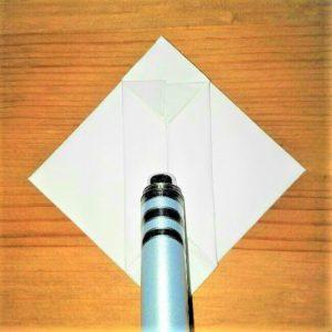 12折り紙【お寿司まぐろ】立体の簡単な折り方|子供と楽しもう!