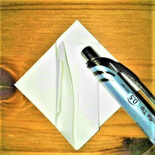 13折り紙【お寿司まぐろ】立体の簡単な折り方|子供と楽しもう!