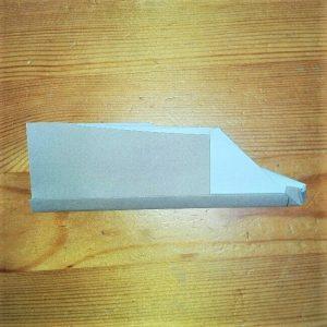 13折り紙【新幹線のぞみ700系】の簡単な折り方|子供と作ろう!