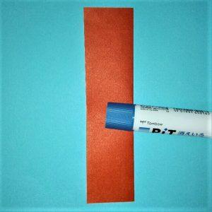 13折り紙お寿司【サーモン&いくら】立体の簡単な折り方・作り方