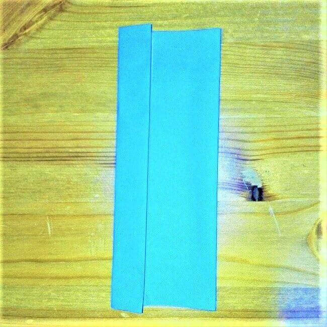 13-1 折り紙【新幹線こだま500系】立体の簡単な作り方