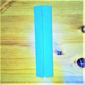 13-2 折り紙【新幹線こだま500系】立体の簡単な作り方