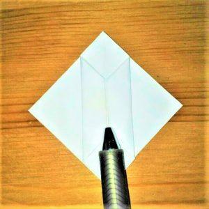 14折り紙【お寿司まぐろ】立体の簡単な折り方|子供と楽しもう!