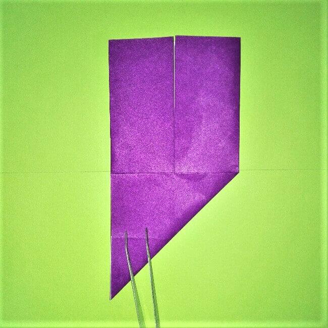 14折り紙【剣】の簡単な折り方|ヒーローごっごを楽しもう!