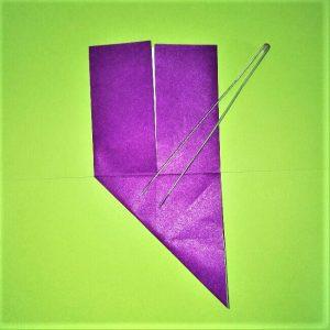 15折り紙【剣】の簡単な折り方|ヒーローごっごを楽しもう!
