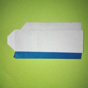 15折り紙【新幹線0系ひかり】の簡単な折り方 息子と楽しもう!