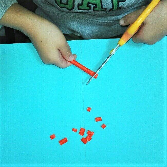 15折り紙お寿司【サーモン&いくら】立体の簡単な折り方・作り方