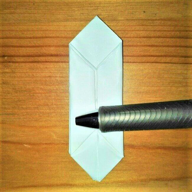 16折り紙【お寿司まぐろ】立体の簡単な折り方|子供と楽しもう!