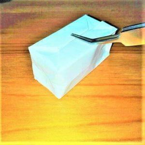 17折り紙【お寿司まぐろ】立体の簡単な折り方|子供と楽しもう!