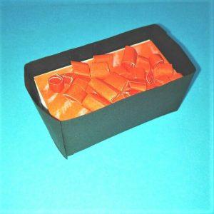 17折り紙お寿司【サーモン&いくら】立体の簡単な折り方・作り方