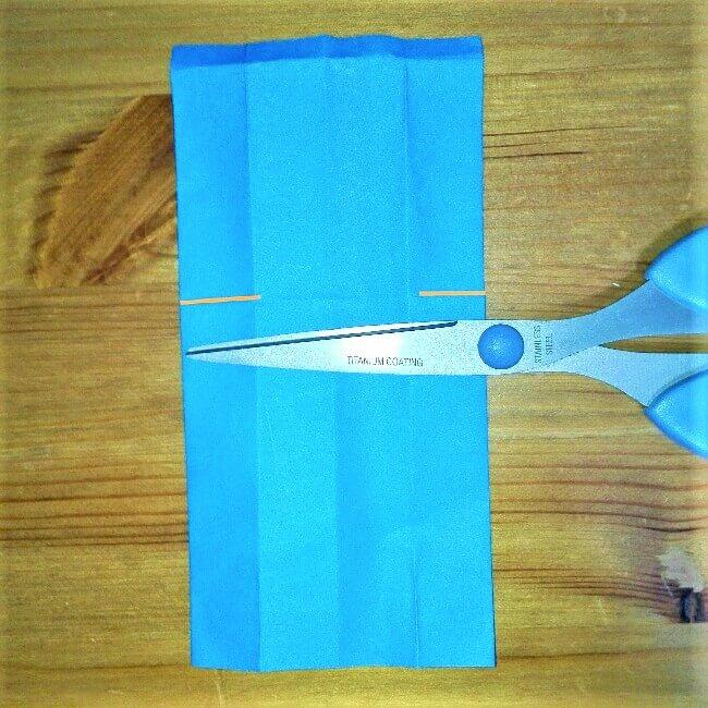 17 折り紙【新幹線こだま500系】立体の簡単な作り方