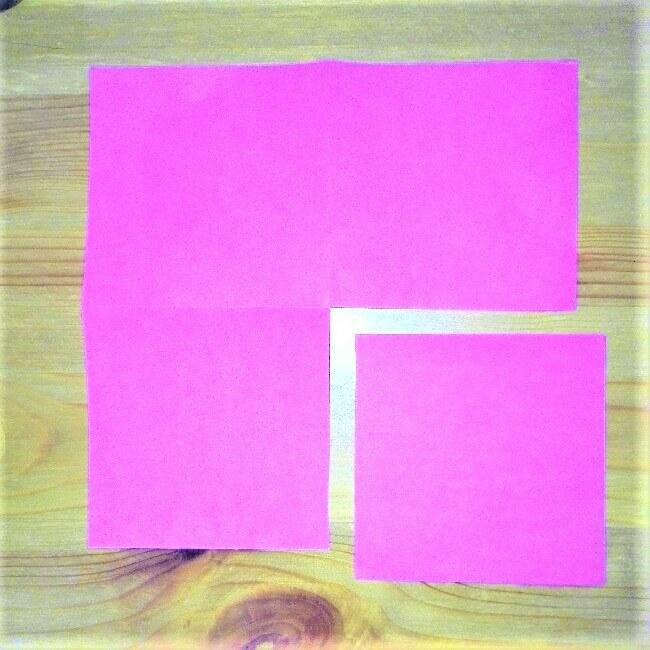 18折り紙【お寿司まぐろ】立体の簡単な折り方|子供と楽しもう!