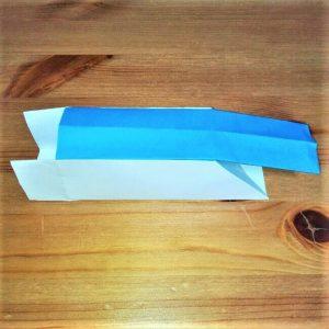 19-2 折り紙【新幹線こだま500系】立体の簡単な作り方