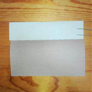 2折り紙【新幹線のぞみ700系】の簡単な折り方|子供と作ろう!