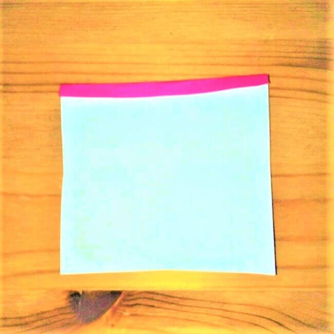 20折り紙【お寿司まぐろ】立体の簡単な折り方|子供と楽しもう!