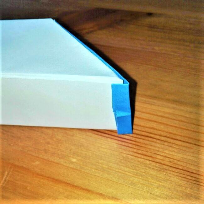 22-1 折り紙【新幹線こだま500系】立体の簡単な作り方