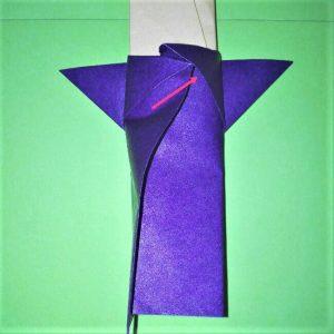 24-1折り紙【剣】の簡単な折り方|ヒーローごっごを楽しもう!