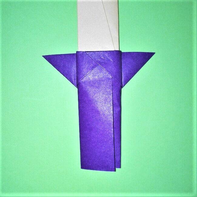 24-2折り紙【剣】の簡単な折り方|ヒーローごっごを楽しもう!
