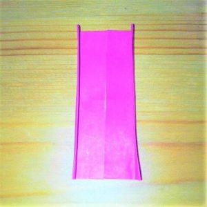 26折り紙【お寿司まぐろ】立体の簡単な折り方|子供と楽しもう!