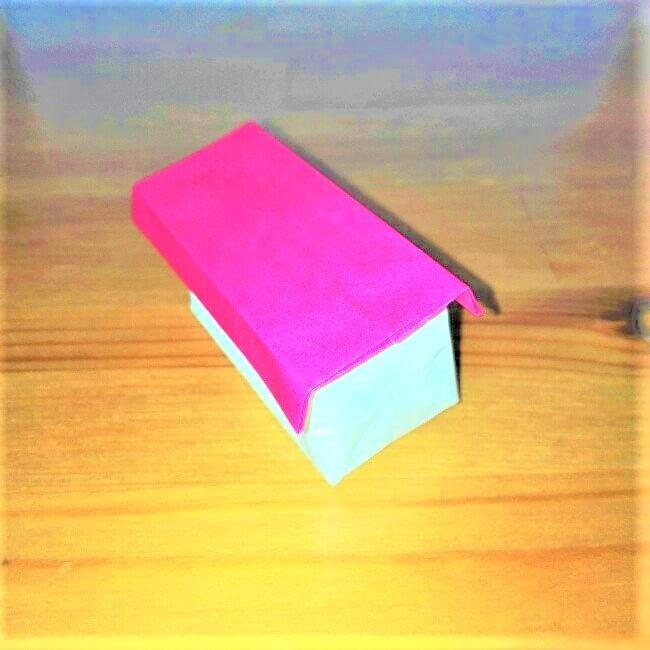 27折り紙【お寿司まぐろ】立体の簡単な折り方|子供と楽しもう!
