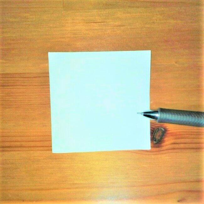 3折り紙【お寿司まぐろ】立体の簡単な折り方|子供と楽しもう!