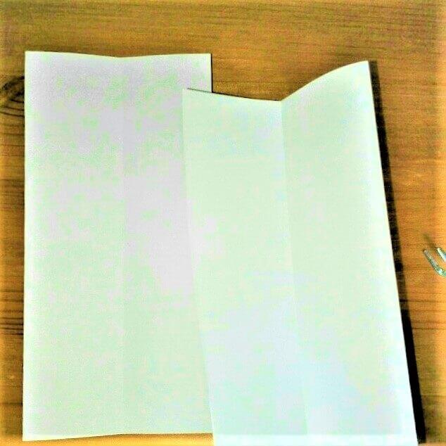 4 折り紙【新幹線こだま500系】立体の簡単な作り方
