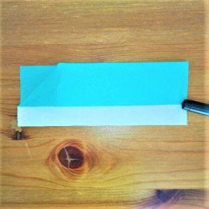 5折り紙【新幹線はやぶさ】の折り方を紹介 子供と作ろう♪作り方は簡単!
