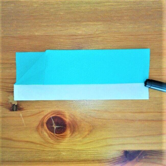 5折り紙【新幹線はやぶさ】の折り方を紹介|子供と作ろう♪作り方は簡単!