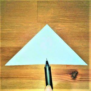 6折り紙【お寿司まぐろ】立体の簡単な折り方|子供と楽しもう!