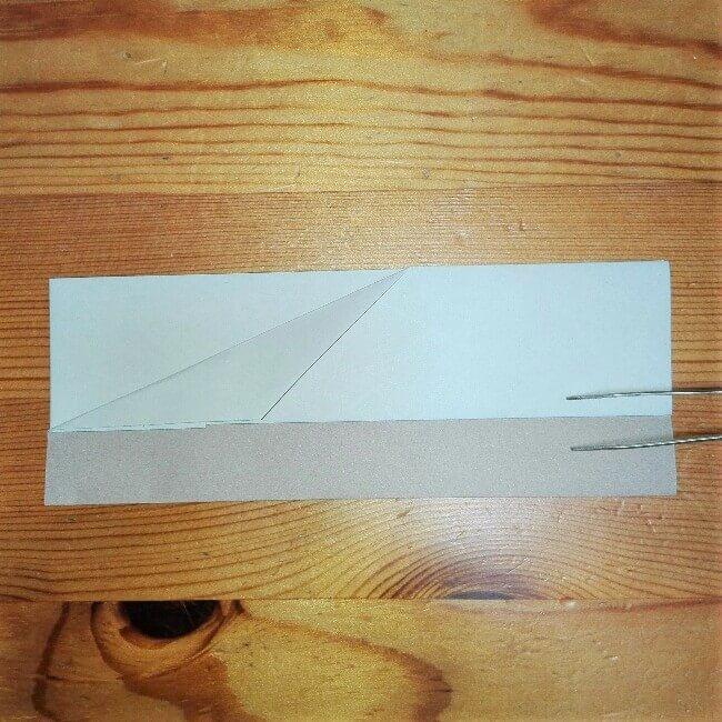 6折り紙【新幹線のぞみ700系】の簡単な折り方|子供と作ろう!