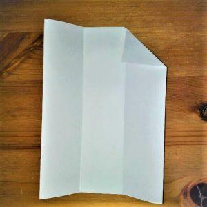 6 折り紙【新幹線こだま500系】立体の簡単な作り方