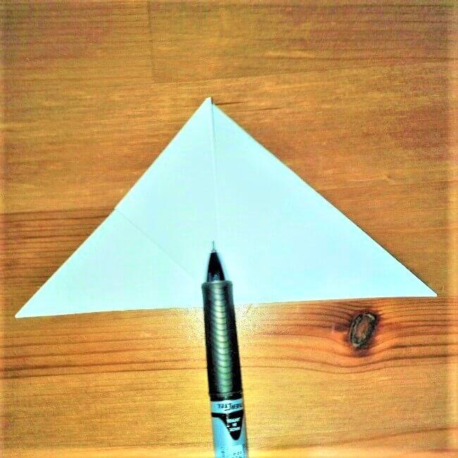 7折り紙【お寿司まぐろ】立体の簡単な折り方|子供と楽しもう!