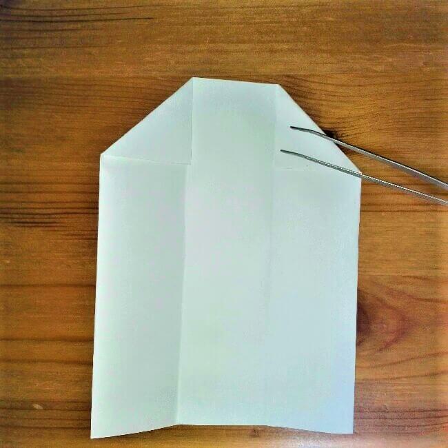 7 折り紙【新幹線こだま500系】立体の簡単な作り方