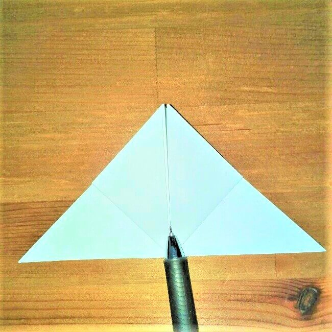 8折り紙【お寿司まぐろ】立体の簡単な折り方|子供と楽しもう!