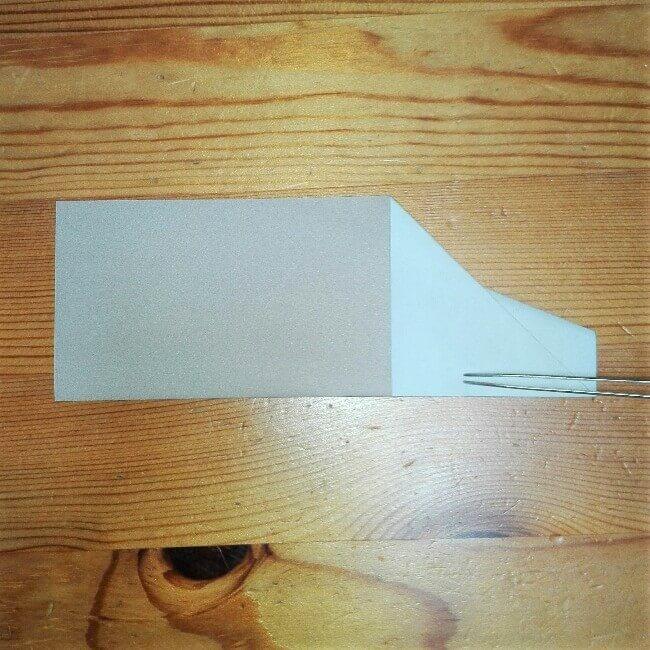 8折り紙【新幹線のぞみ700系】の簡単な折り方|子供と作ろう!