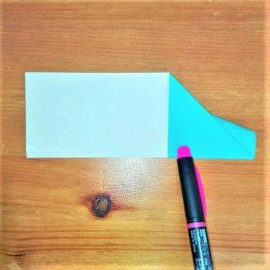 8折り紙【新幹線はやぶさ】の折り方を紹介|子供と作ろう♪作り方は簡単!