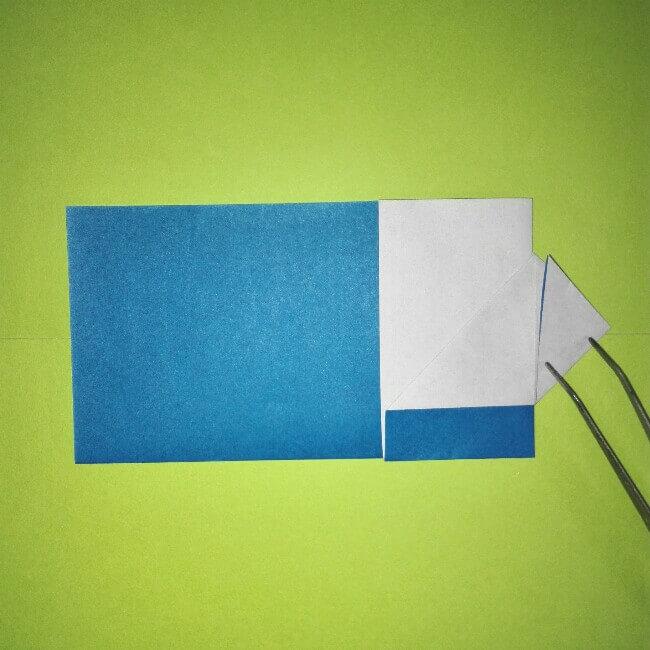 8折り紙【新幹線0系ひかり】の簡単な折り方|息子と楽しもう!