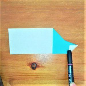 9折り紙【新幹線はやぶさ】の折り方を紹介|子供と作ろう♪作り方は簡単!