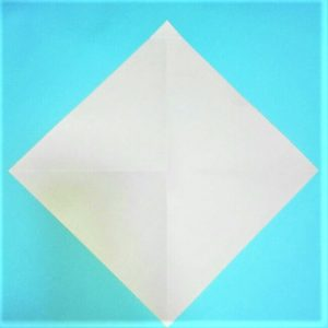1折り紙【お正月の鏡餅】の簡単な折り方子供と楽しもう!