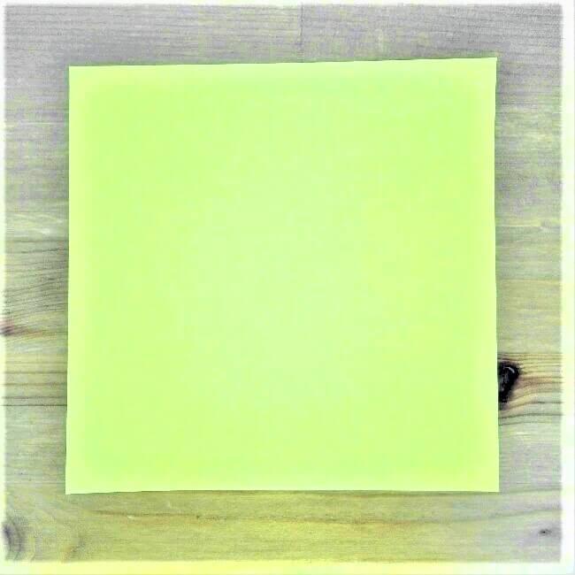 1折り紙新幹線【ドクターイエロー】の折り方|簡単です!
